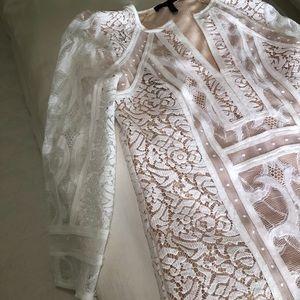 98a332c502b BCBGMaxAzria Dresses   Bcbg Sofee Lace Flounce Tunic   Poshmark